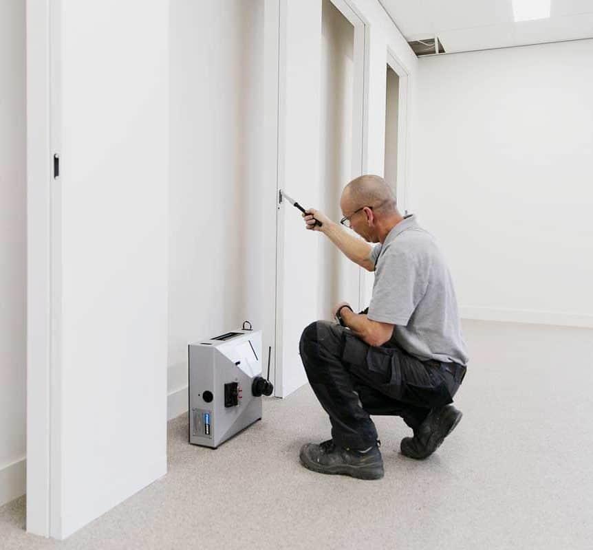 Binnendeur digitaal inmeten